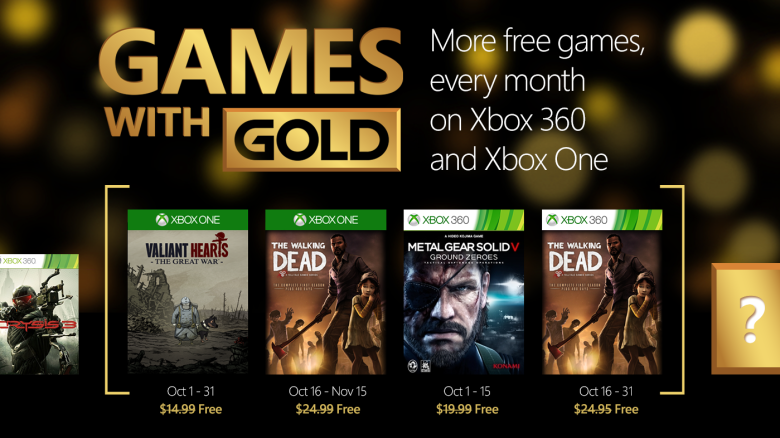 Xbox Deals Four New Games With Gold November Technostalls