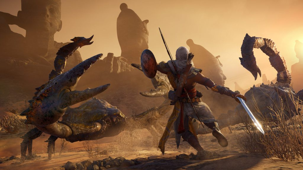 Assassin S Creed Origins Dlc Available With Mythological Creatures