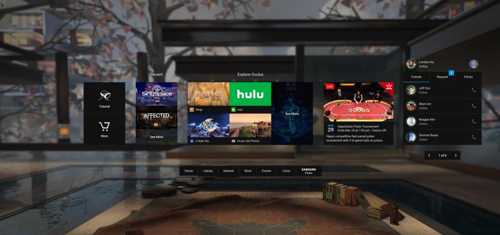 Oculus Home Receives 3 27 62 APK Update - TechnoStalls
