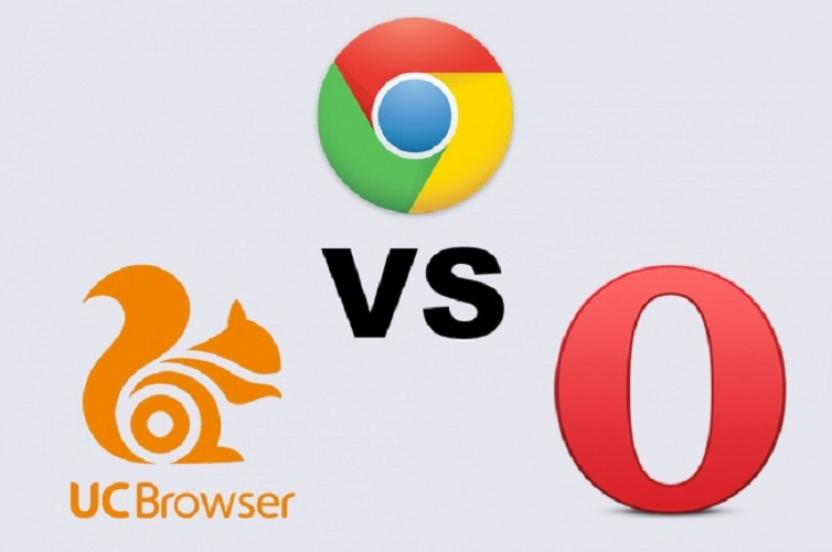 UC Browser vs Opera Mini vs Google Chrome: The Best Android