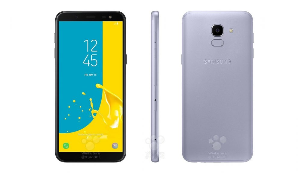 Leak Samsung Galaxy J6 Hd Press Render And Full Specs Sheet Revealed Ahead Of Launch Date Technostalls