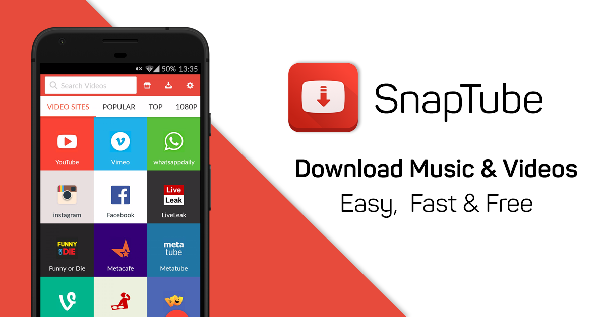 SnapTube Beta 4 42 1 4422601 Video and Music Downloader Has