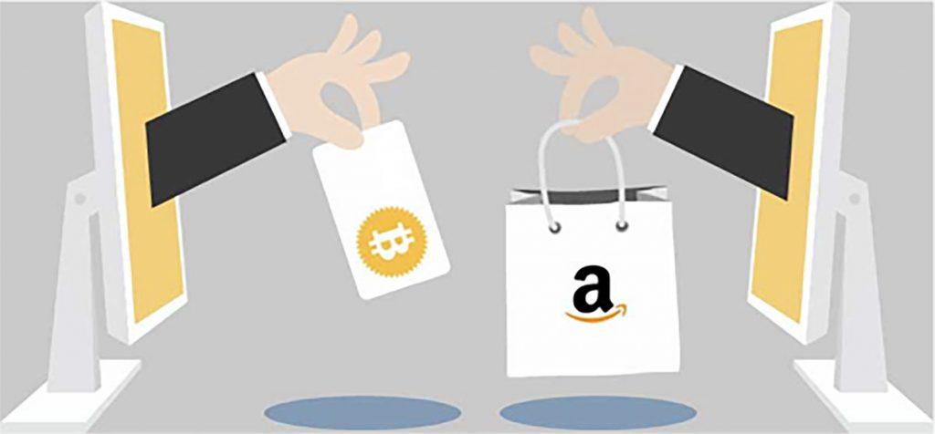 amazon using cryptocurrency