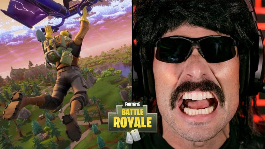 Dr  Disrespect Shares Honest Opinion About Fortnite - The