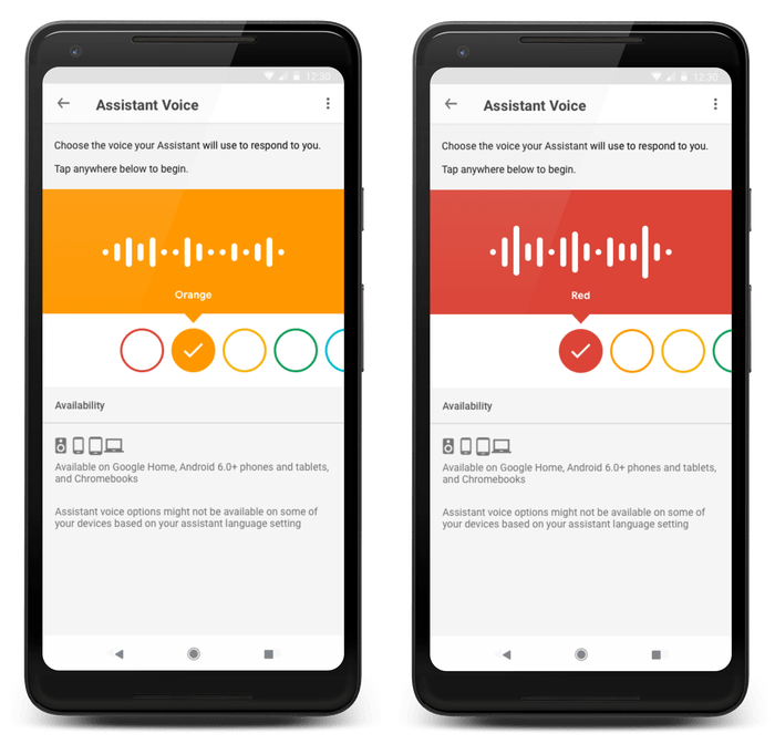Google Adds New Assistant Voice Available In Nine Languages