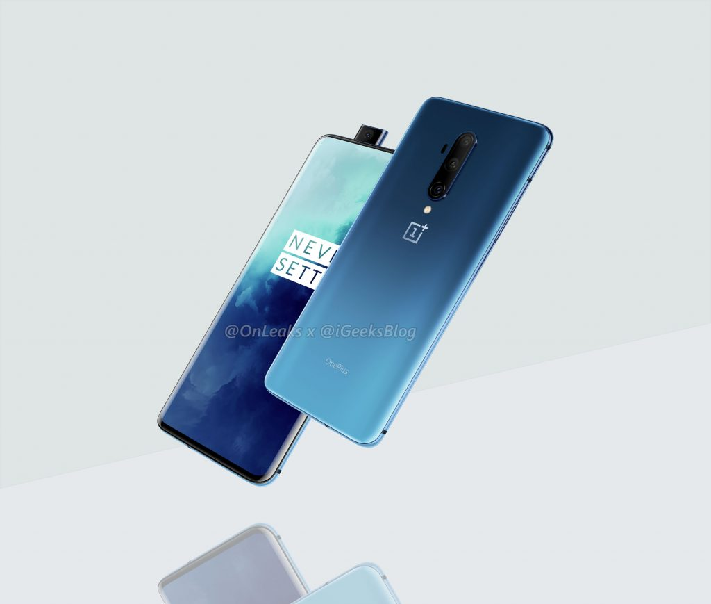 Haze Blue OnePlus 7T Pro stuns in leaked render