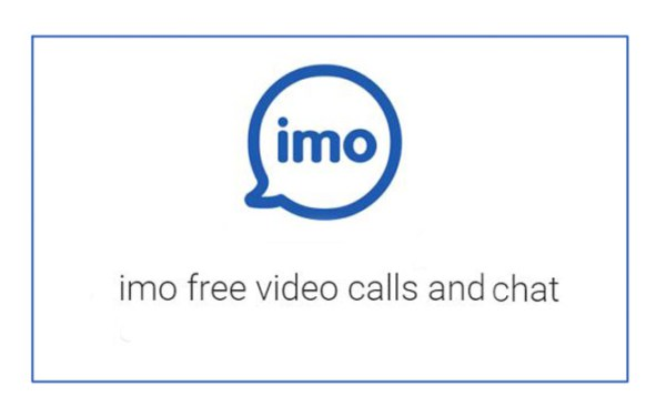 imo video call and chat software download